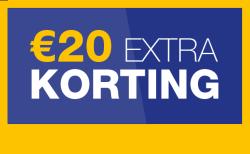 20 euro extra korting